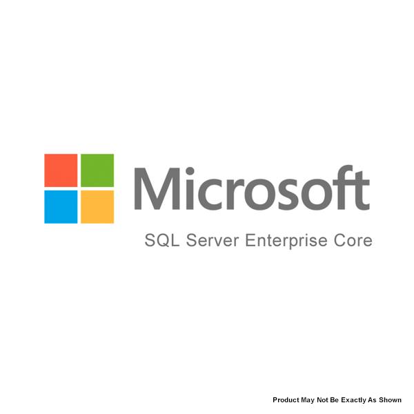 Microsoft SQL Server 2016 Enterprise Edition Core